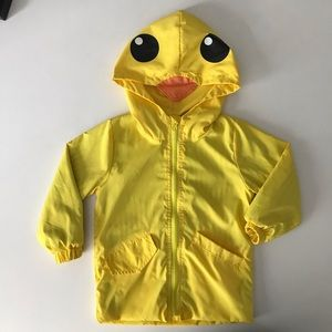 Other - Boys or girls 2T duck windbreaker with beaked hood